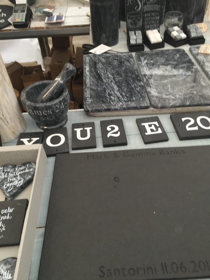 Marble and slate produce
