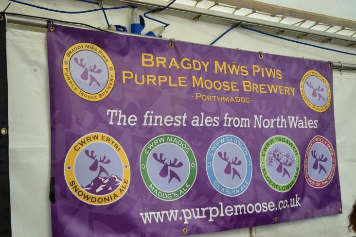 Purple Moose Brewery Banner