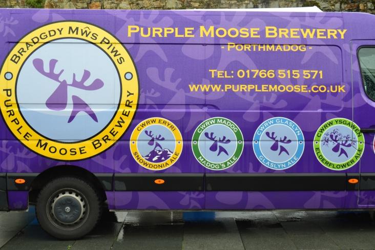 Purple Moose Brewery Van