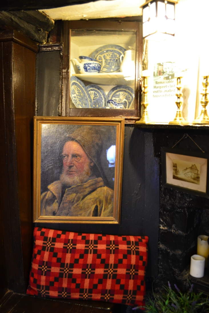 Inside the smallest house in the UK